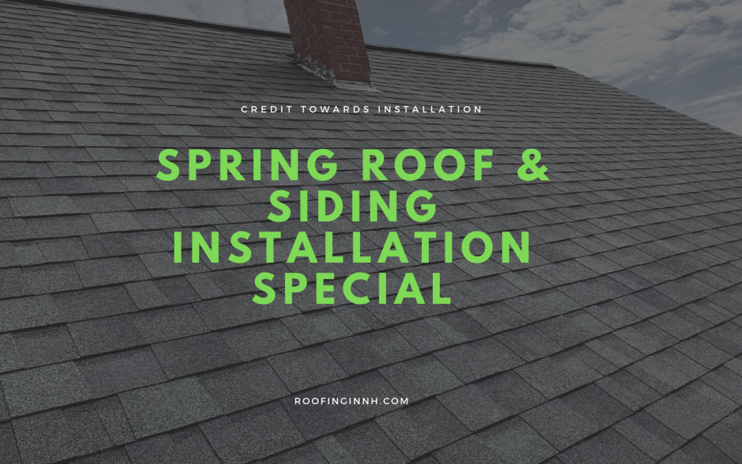 Spring Roofing & Siding Installation Special by Seacoast Roofing & Exteriors