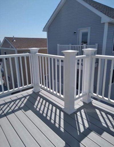 Deck Install Azek Railings Hampton Beach