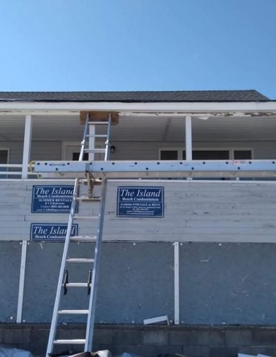 roof and deck installation in hampton