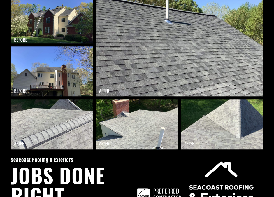 Residential Roofing in North Hampton NH