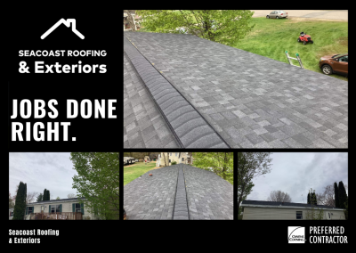 Residential Roofing in Seabrook NH