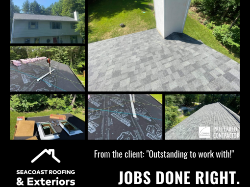 """""""Outstanding"""" Roofing in Durham NH"""