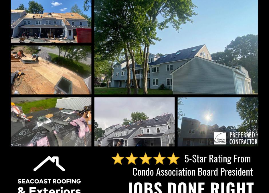 Condo Roofing in Hampton NH