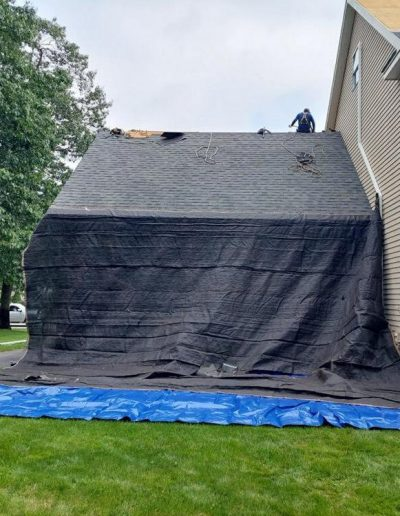 Roof install in Seabrook NH Jobs done right